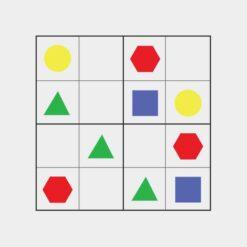 Sudoku for børn med grafik