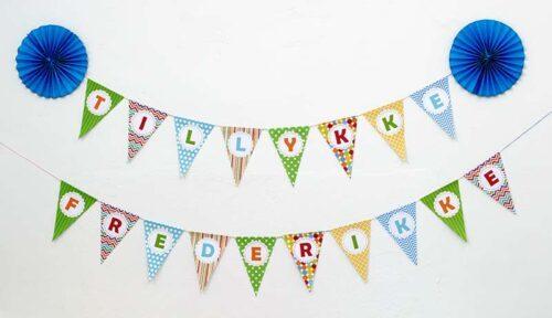 Fødselsdags flagranke