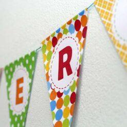 Fødselsdags banner