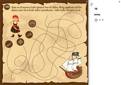 En opgave i piratskattejagten