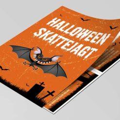 Halloween skattejagt for 4-5 årige børn