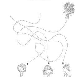 Børn med til bryllup
