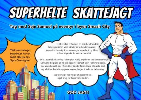 Superhelte skattejagt