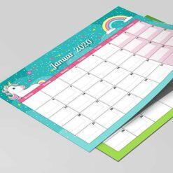 Enhjørninge kalender til børn