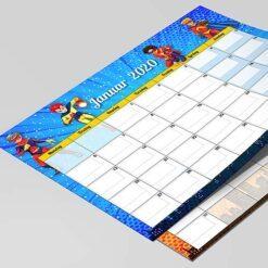 Superhelte kalender til børn