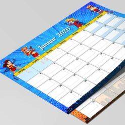 Superhelte kalender - pige