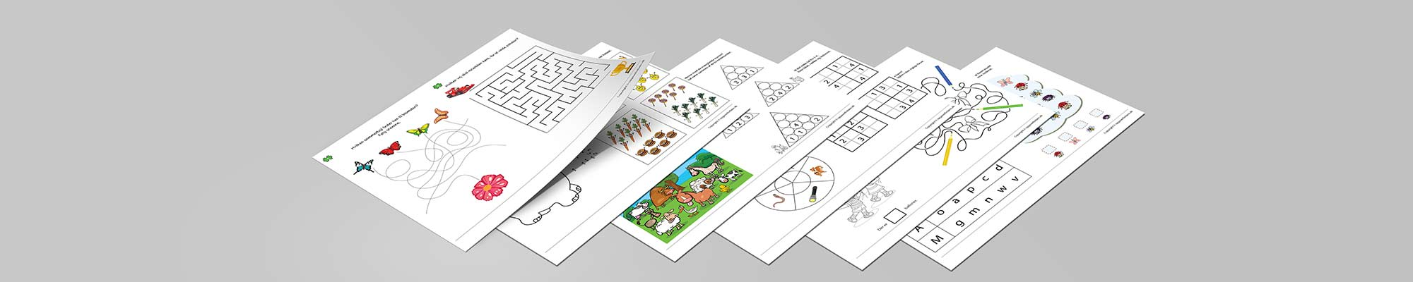 Gratis print selv opgaver til børn