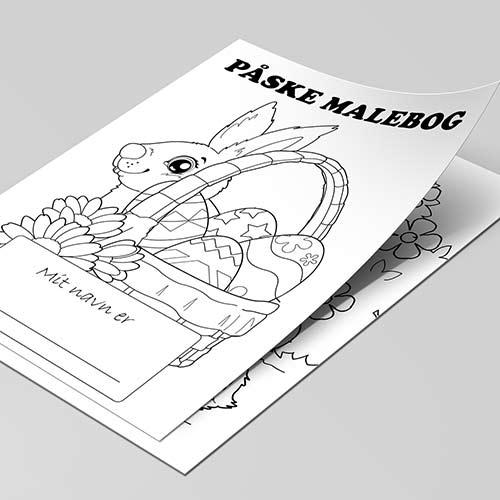 Påske malebog til børn