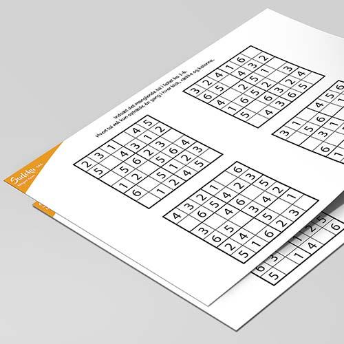 Sudoku for børn