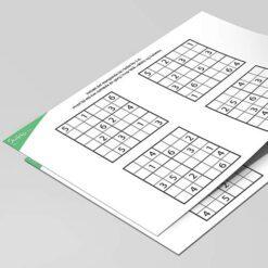 Nemme 6x6 Sudoku for børn