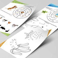 Opgavebøger til de 4 årige