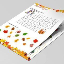 Opgavebog til efteråret - masser af opgaver og spil til de 5 årige
