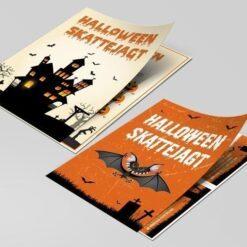 Halloween skattejagt