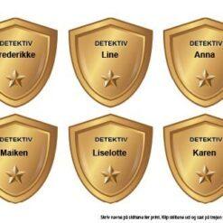 Detektiv skattejagt - skilte