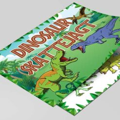Dinosaur skattejagt til børnefødselsdagen
