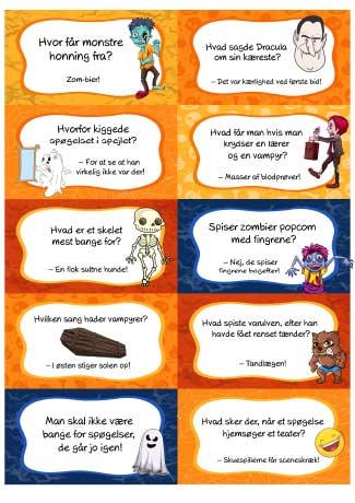Halloween jokes dansk